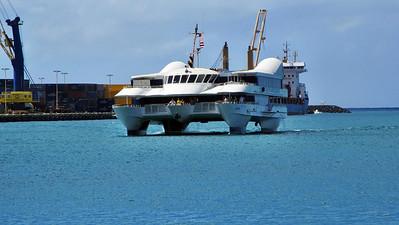 Navatek 1 Whale Watch Cruise Hawaii March 2012