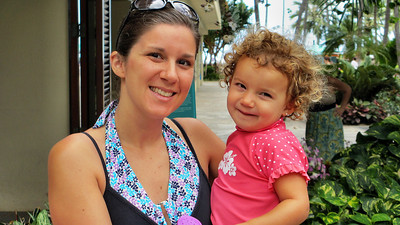 Photos of Abi in Hawaii March 2012