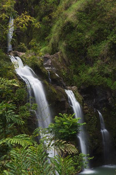 Waikani Falls, Maui, hawaii