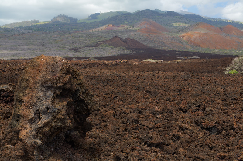 Lava Flow, Maui, Hawaii