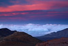 Sunset, Haleakala Crater, Maui, Hawaii