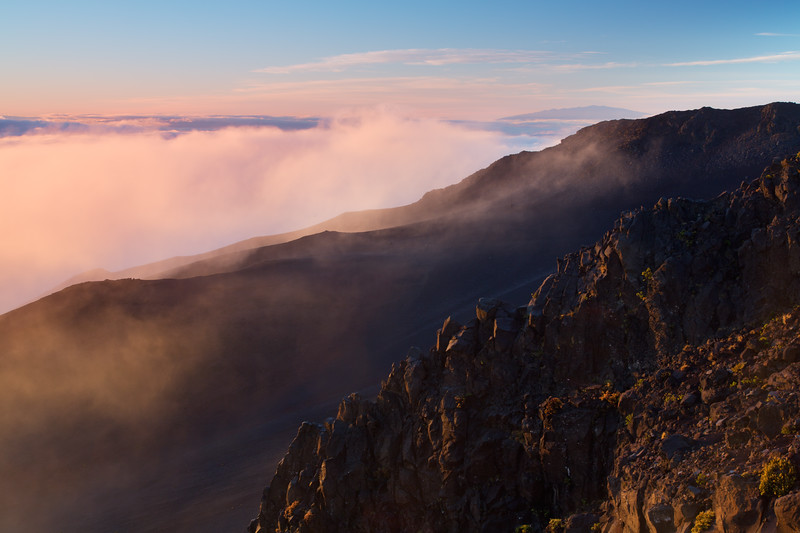 Sunrise, Haleakala National Park, Maui Hawaii