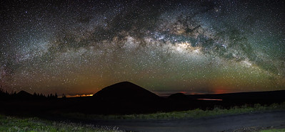 Milky way at Mauna Kea