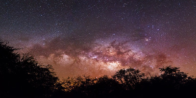 Hawaiian Milky Way