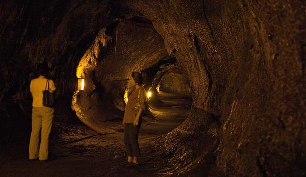 Inside the Thurston Lava Tube