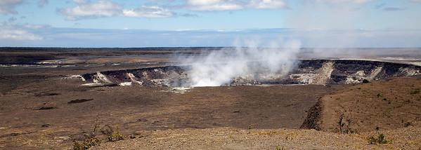 Halema'uma'u Crater, July 2009
