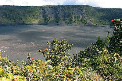 Kilauea Caldera in Volcanoes National Park, Hawaii