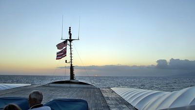 Hawaii March 2015 - Monday, March 23 - Navatek 1 Sunset Dinner Cruise