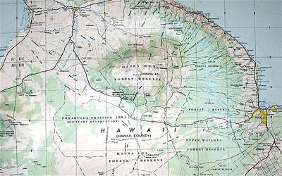 Mauna Kea, 13,796 feet (4205 m).