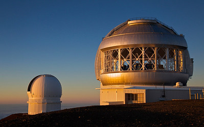 Gemini 8-m Telescope and Canada-France-Hawaii 3.6-m Telescope