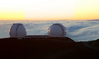 The Twin 10-m Keck Telescopes