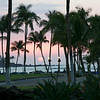 Sunset at Mauna Lani Resort on Big Island
