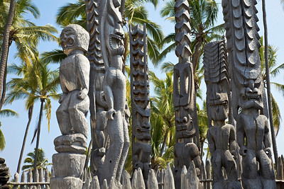 Pu'uhonua o Honaunau - Place of Refuge National Historical Park on Big Island