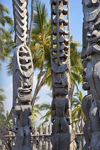 Pu'uhonua o Honaunau - Place of Refuge National Historical Park on Big Island