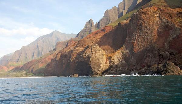 Na Pali Coast on the Island of Kauai