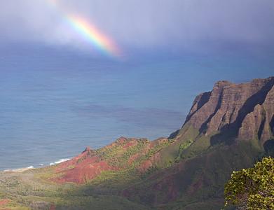 Kalalau valley on the island of Kauai