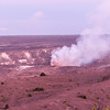 Kilauea Volcano in the afternoon