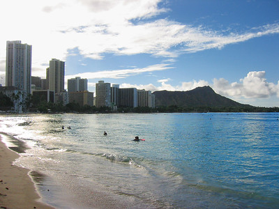 Waikiki Beach, Oahu, Hawaiian Islands
