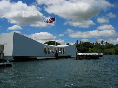 USS Arizona Memorial, Pearl Harbor, Hawaiian Islands