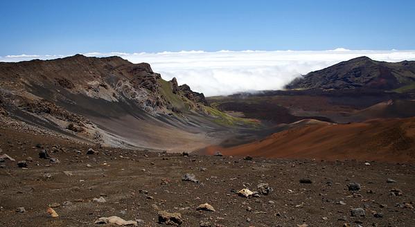 Ko'olau Gap on Haleakala.