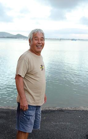 Uncle Rick  He'eia Pier 0112 572