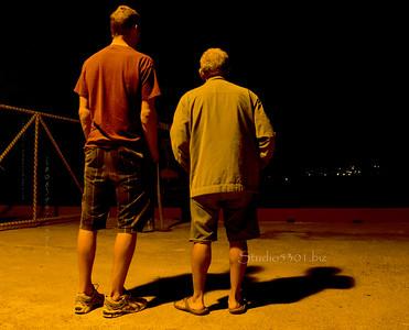 Guys at Makai Pier 010812 630