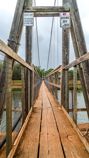 Swinging Bridge - Hanapepe