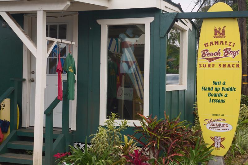 Surf Shop, Hanalei, Kauai