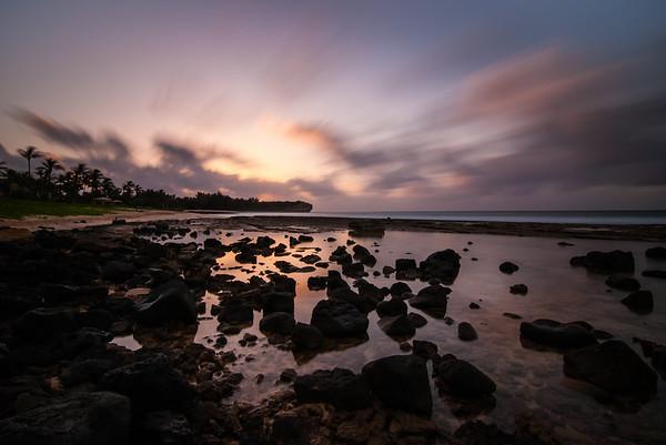 Shooting the Sunrise on Kauai
