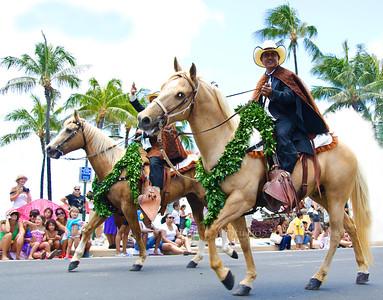 Horse riders  Parade 7962
