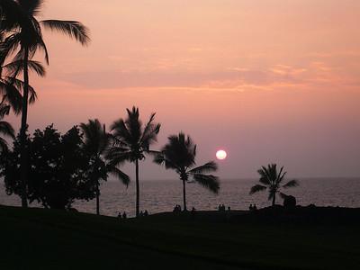 Keahou palm sunset 0208 dark