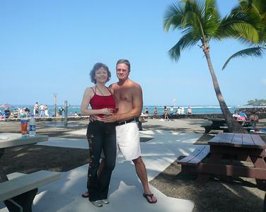 Rich Pat Kona Beach 0208