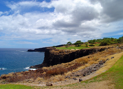 Hole #12 -Challenge at Manele Bay.