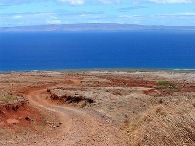 Road down to Polihua Beach