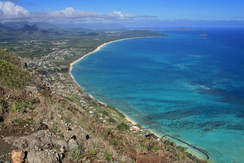 Windward Coast from Hang Glider Launching Area
