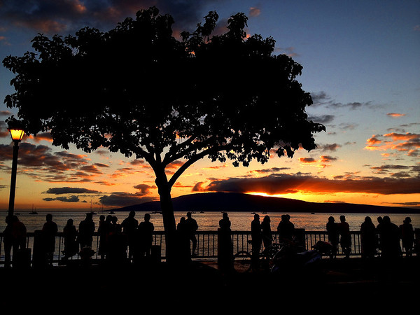 Lahaina Sunset (iPhone photo)
