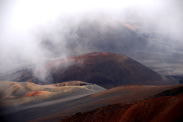 Haleakala in the Clouds