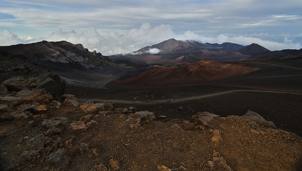 Haleakala Crater, Sliding Sands Trail, Maui