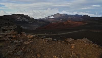 Haleakala Crater, Sliding Sands Trail, Maui