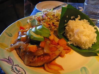 Opah Upcountry Style, Mama's Fish House, Paia, Maui