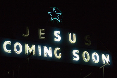 neon jesus coming soon