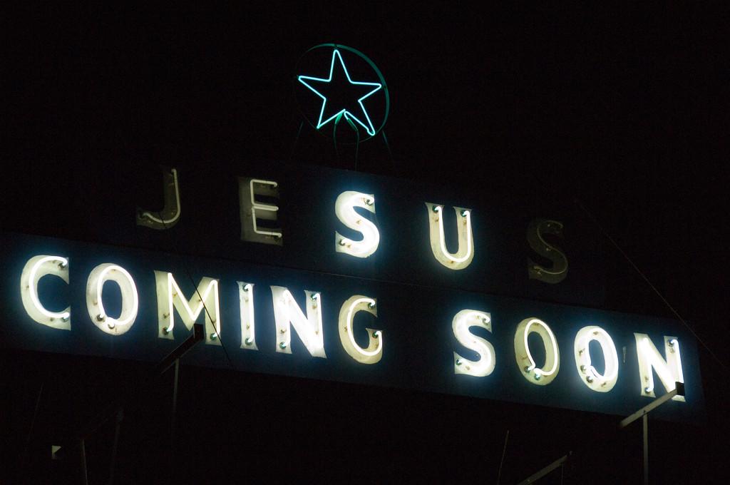 neon jesus coming soon