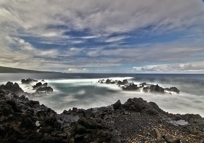 Waves along the Nahiku Coast, Maui