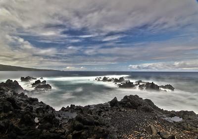 Waves along the Nahiku Coast, Maui