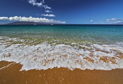 Waves on North Kaanapali Beach