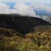 Ko'olau Gap from the Halemau'u Trail, Haleakala Nationa Park, Maui, Hawaiian Islands
