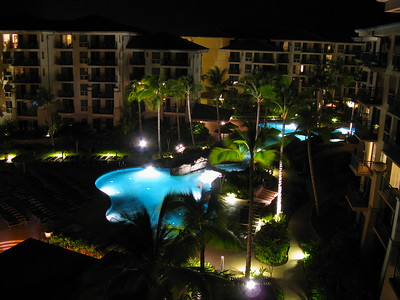 The Westin Kaanapali Ocean Resort Villas at Night, Maui, Hawaiian Islands