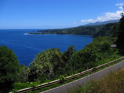 View from Kaumahina State Park, Road to Hana, Maui, Hawaiian Islands