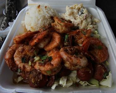 Shrimp Combo, Geste Shrimp Truck, Kahului, Maui