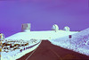 #KEA2006-3- Observatories at the top of Mauna Kea